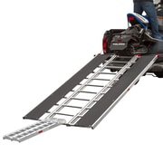 "Black Ice (SNO-9454-HDXW) ,94"" x 54"" Snowmobile Loading Ramp with Extra Wide Glides"