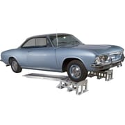 Discount Ramps (CR-7214) ,Low-Profile Aluminum Vehicle Service Stands with Removable Ramps