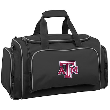 Wally Bags NCAA Collegiate 21'' Gym Duffel; Texas A&M Aggies