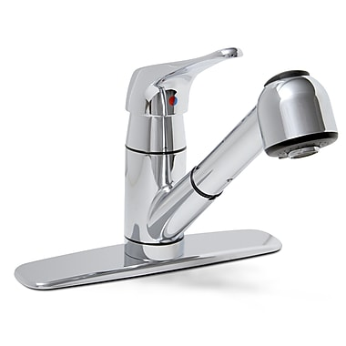 Premier Faucet Sonoma One Handle Centerset Kitchen Faucet; Chrome