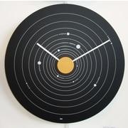 Bai Design 15'' Solar System Expos  Modern Wall Clock