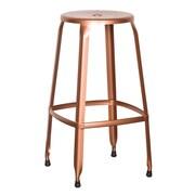 OSP Designs Newark 30'' Bar Stool (Set of 4); Copper