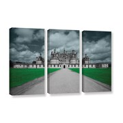 ArtWall 'Castle' by Revolver Ocelot 3 Piece Graphic Art on Wrapped Canvas Set