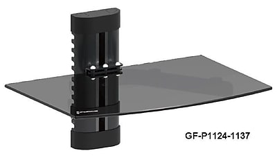 GForce GForce DVD Player Shelf Wall Mount w/ Tempered Glass and Aluminum WYF078278522983