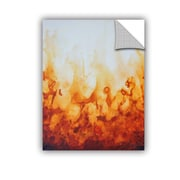ArtWall Amber Flame by Shiela Gosselin Removable Painting Print; 48'' H x 36'' W