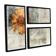 ArtWall Elena Ray's 3 Piece Floater Framed Painting Print on Canvas Flag Set