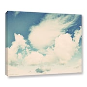 ArtWall Clouds on a Beautiful Day by Elena Ray Painting Print on Wrapped Canvas; 18'' H x 24'' W