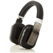 Bem Freedom RG72301 Over-the-Head Wireless Bluetooth Stereo Headphone, Black/Brushed Silver