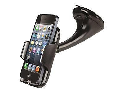 Cygnett Dashview Maxi Car Mount Smartphone Holder, CY1301ACDU2, Universal, Black