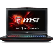 "msi® GT72 DOMINATOR G-831 17.3"" Gaming Notebook, Full HD, Intel Core i7 K, 128GB M.2/1TB HDD, 16GB RAM, Win 10, Black"