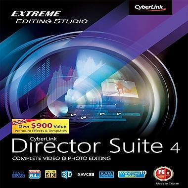 Cyberlink – Montage vidéo et photo Director Suite 4, téléchargement