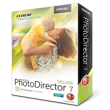 Cyberlink – PhotoDirector 7 Deluxe (Windows), téléchargement