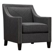 TOV Ashville Arm Chair; Dark Grey