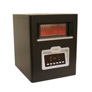 Versonel 5,120 BTU Portable Electric Infrared Cabinet Heater with Remote Control