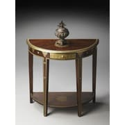 Butler Artifacts Demilune Console Table