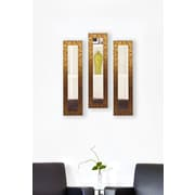 Rayne Mirrors Molly Dawn Rayne Safari Mirror Panels Set of 3; 13.5 X 27.5