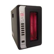 Versonel 5,120 BTU Portable Electric Infrared Cabinet Heater with Remote
