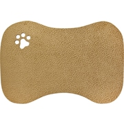 Home Dynamix Furry Friends Bowl Mat; Mocha