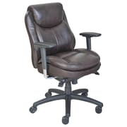 Serta at Home Series 400 Puresoft  Mid Back Task Chair; Brown