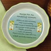Abbey Press Amazing Woman  Pie Plate