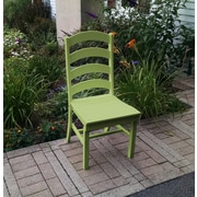 A&L Furniture Poly Dining Side Chair (Set of 50); Lime Green