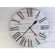 essex hand crafted wood products Oversized 28'' Wall Clock