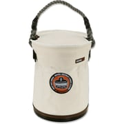 Ergodyne® Arsenal® Plastic Bottom Bucket With Top, White, Small