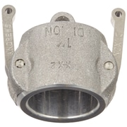 "Dixon™ Valve 100 Aluminum Type DC Dust Cap, 1"" Female Quick"