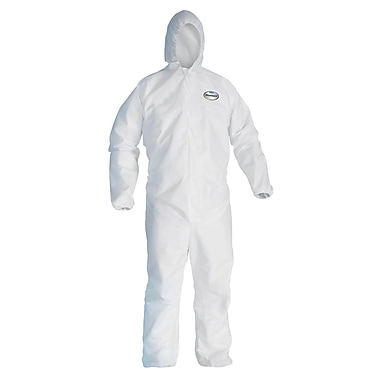 KleenGuard® A30 Breathable Splash & Particle Protection Coverall, White, 2XL