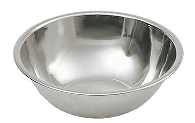Update International 8 qt Stainless Steel Mixing Bowl 454113