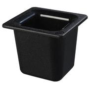 Carlisle CM1104 03, Coldmaster 6 inch Deep Sixth Size Food Pan, Black