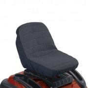 Classic Accessories® Deluxe Tractor Seat Cover, Black/Gray, Medium