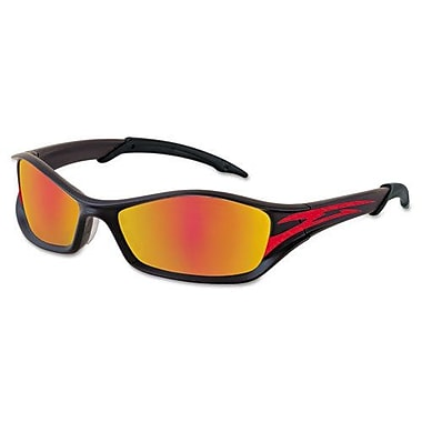 MCR Safety® ANSI Z87.1 Tribal® Tattoo Safety Glasses, Fire Mirror/Red Tattoo