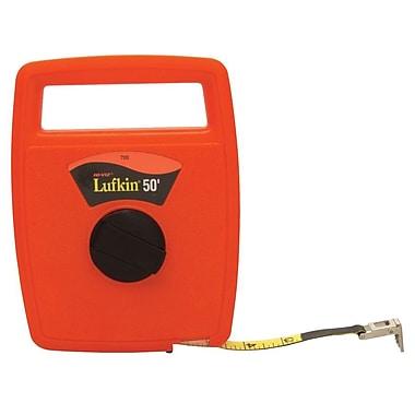 Lufkin® C1 Fiberglass Single Side Linear Measuring Tape, 100 ft (L) x 1/2 in (W) Blade