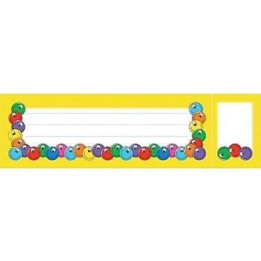 North Star Teacher Resources® Seat and Cubby Sign, Smiley Faces