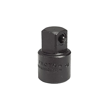 Proto® Plain Pin Locking Impact Socket Adapter, 1/2 in Female x 3/8 in Male, 1 7/16 in (L)