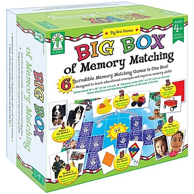 Key Education Big Box of Memory Matching Board Game
