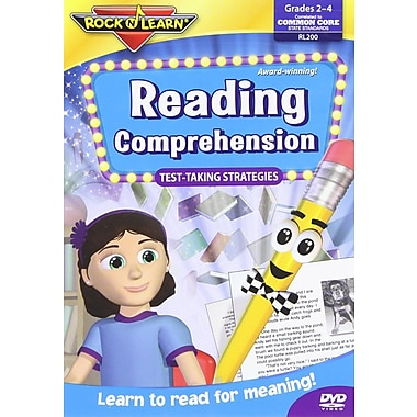 Rock 'N Learn® Taking Strategies Educational DVD, Reading Comprehension