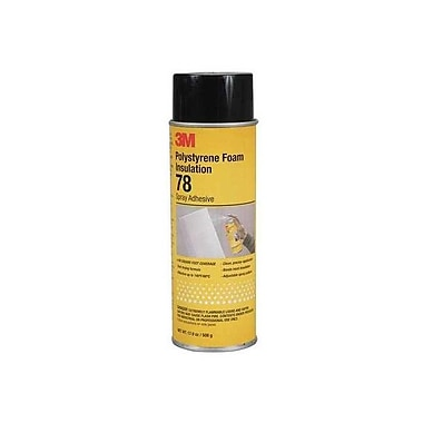 3M Insulation Inverted Spray Adhesive 24 oz., 12/Case