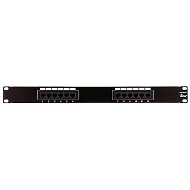 Monoprice® 12 Ports Cat5 110Type Enhanced Patch Panel