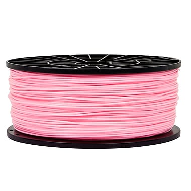 Monoprice® 1.75mm 1kg PLA Premium 3D Printer Filament Spool, Pink