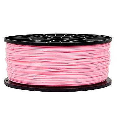 Monoprice® 1.75mm 1kg ABS Premium 3D Printer Filament Spool, Pink