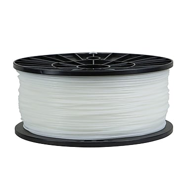 Monoprice® 1.75mm 1kg ABS Premium 3D Printer Filament Spool, White