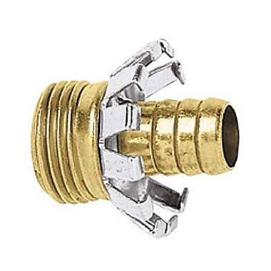Gilmour C58M Male Brass Coupler, 5/8