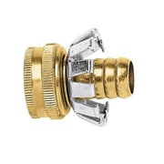 Gilmour C58F Female Brass Coupler, 5/8""
