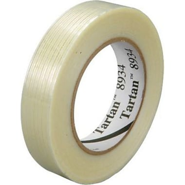 Scotch® Tartan #8934 Utility Grade Filament Tape, 1