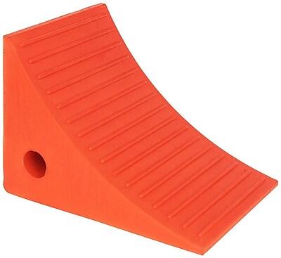 Checkers Monster Roadblock 3.5 lbs. Wheel Chock Orange