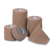 """Co-Flex Med™ Latex Non-sterile Self-adherent Bandages, Tan, 5 yds L x 4"""" W, 18/Pack"""