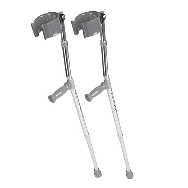 Medline Forearm Crutch, 5 ft to 6 ft 2