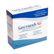 Sani-Hands® Antimicrobial Alcohol Gel Hand Wipes, 1000/Pack
